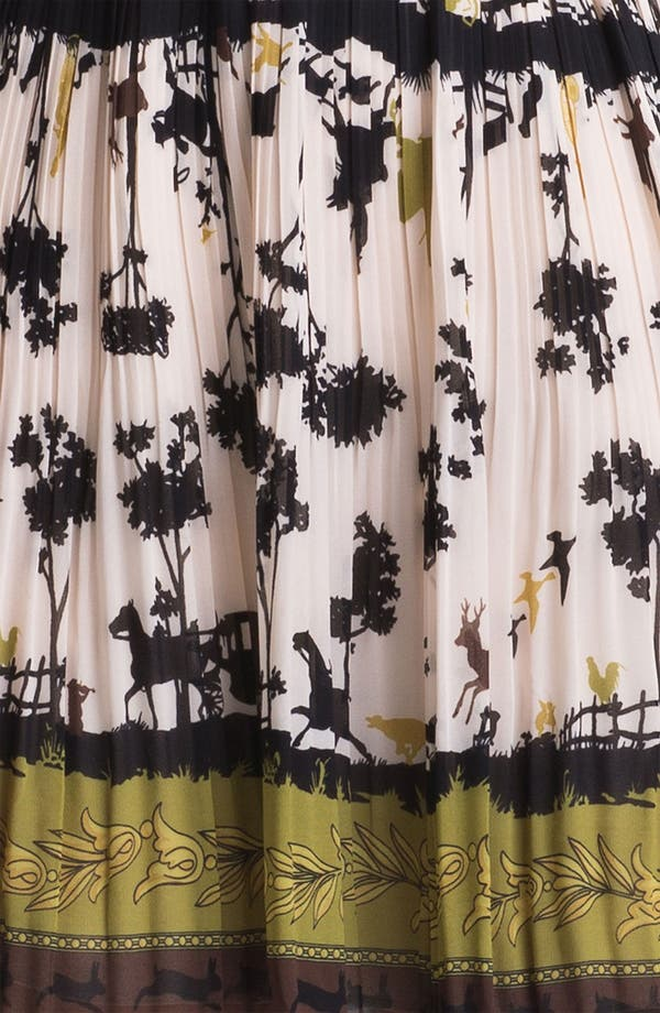 Alternate Image 3  - Ted Baker London 'Cameo' Print Fit & Flare Dress