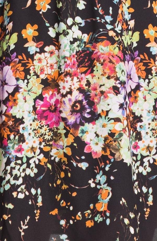 Alternate Image 3  - Olive & Oak Floral Print Shirtdress