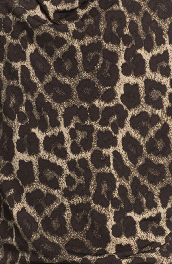 Alternate Image 3  - MICHAEL Michael Kors 'Savannah' Leopard Print Top (Petite)