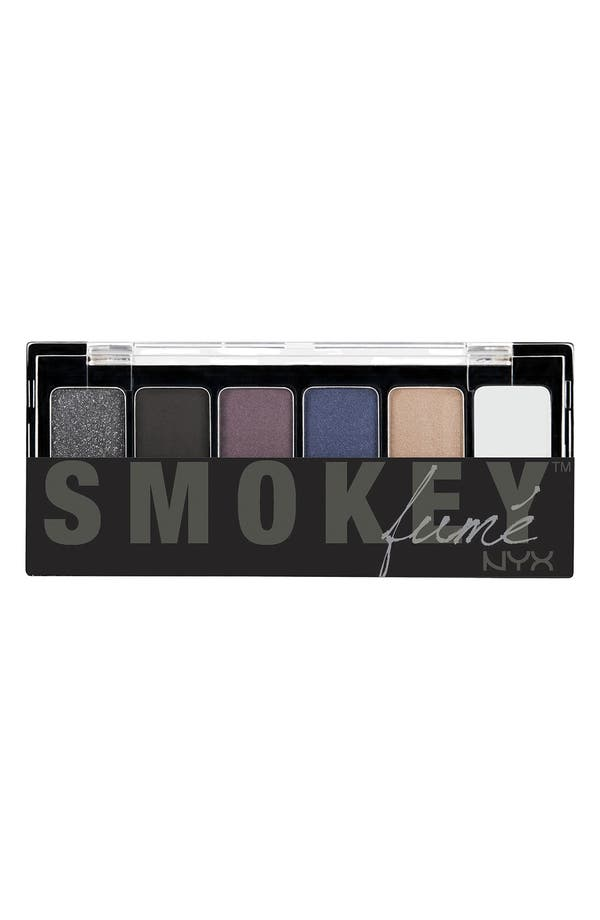 Alternate Image 1 Selected - NYX 'Smokey Eye' Eyeshadow Palette