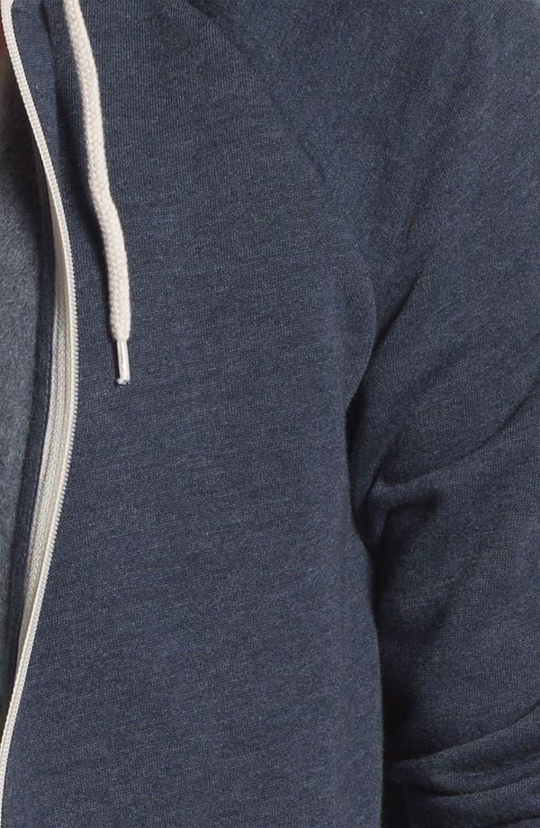Alternate Image 3  - Topman Zip Hoodie