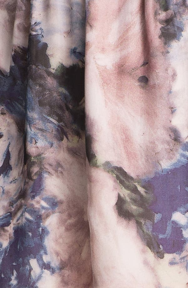 Alternate Image 5  - Haute Hippie Floral Print Silk Skirt