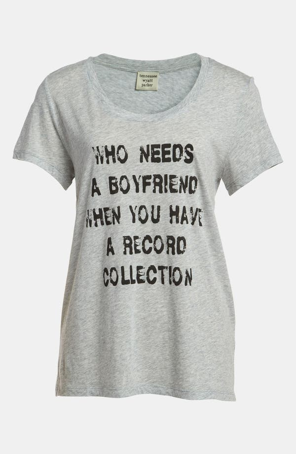 Alternate Image 1 Selected - TWP 'Who Needs a BF' Tee