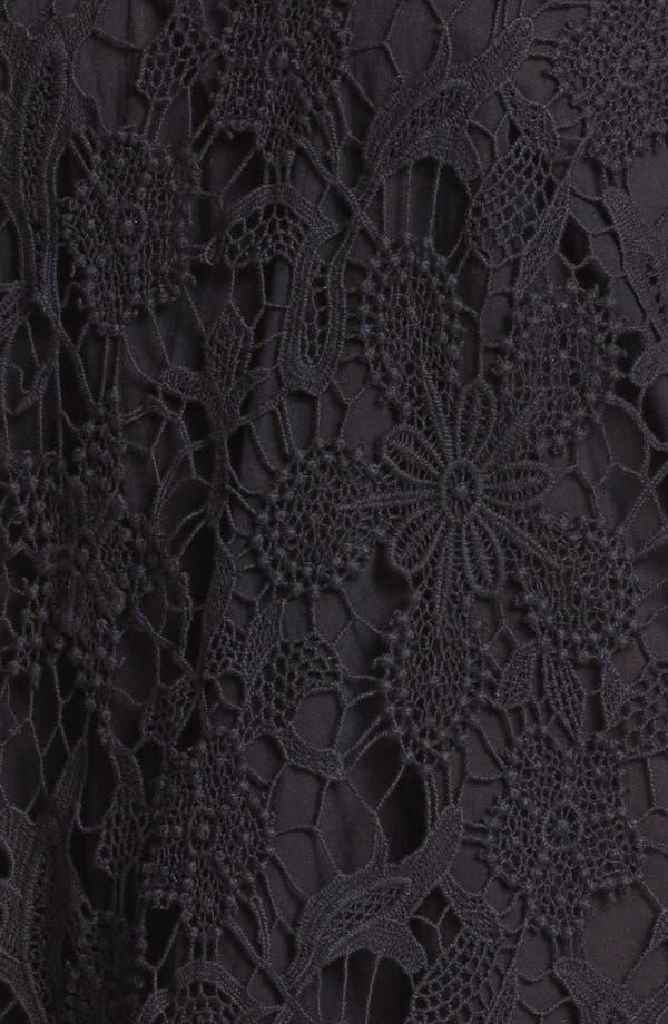 Alternate Image 3  - Maison Scotch Crochet Top