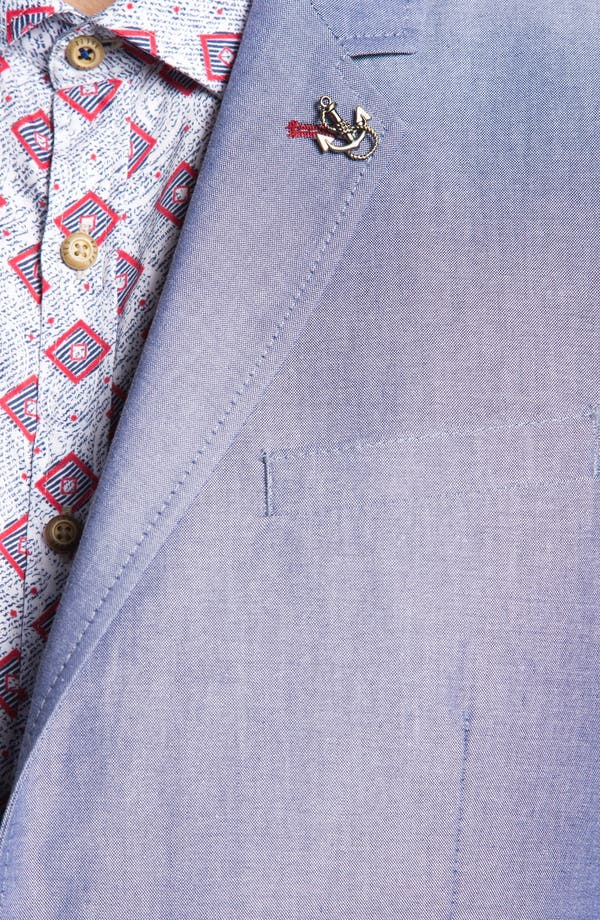Alternate Image 3  - Ted Baker London 'Pheejack' Cotton Blazer