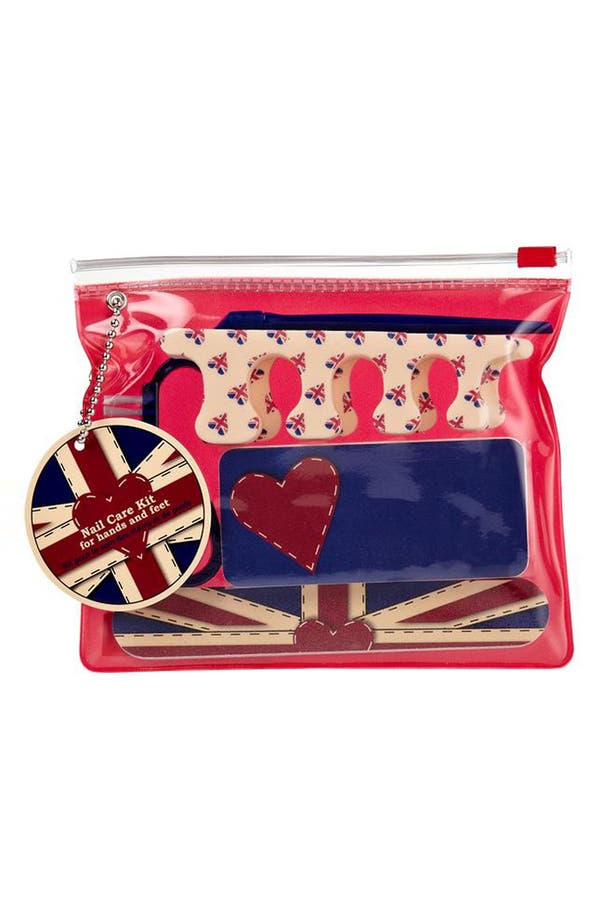 Alternate Image 2  - NPW 'Union Jack' Nail Care Kit
