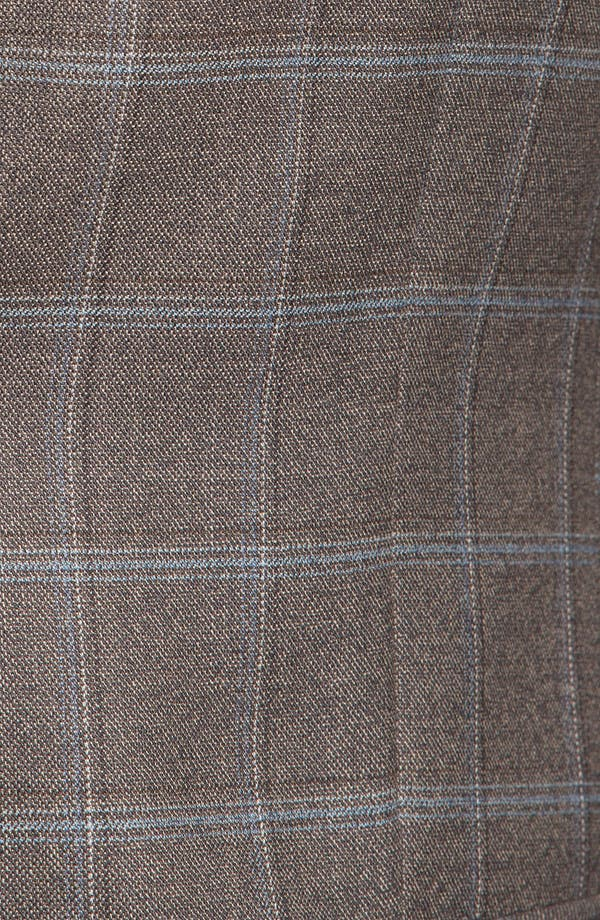 Alternate Image 3  - Joseph Abboud 'Signature Silver' Plaid Wool Sportcoat (Online Only)
