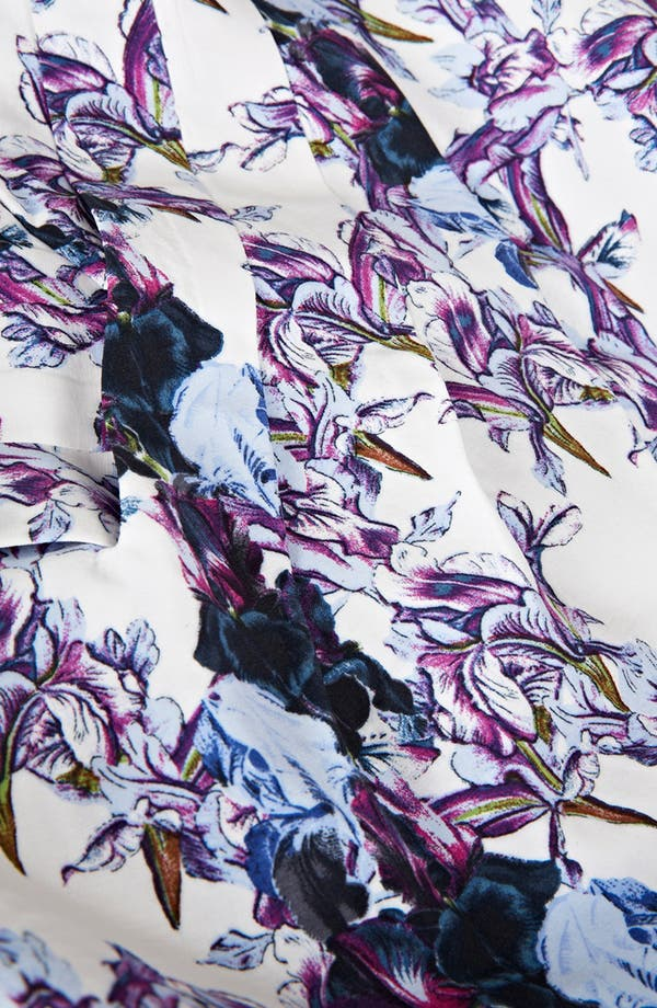 Alternate Image 3  - Topshop 'Florence' Iris Print Dress