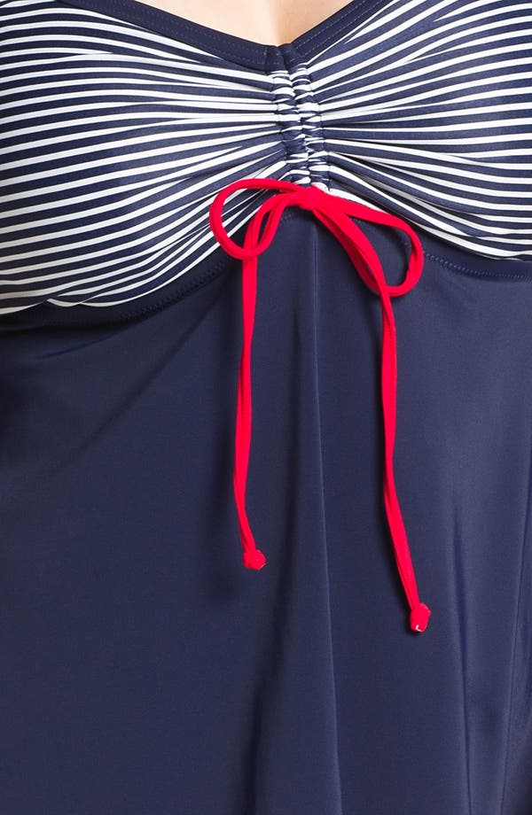 Alternate Image 3  - Elomi 'Regatta' Layering Tankini Top (Plus Size)