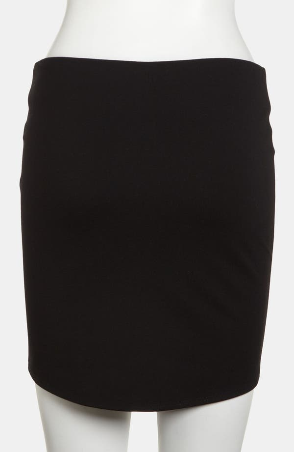 Alternate Image 3  - Devlin High/Low Body-Con Skirt