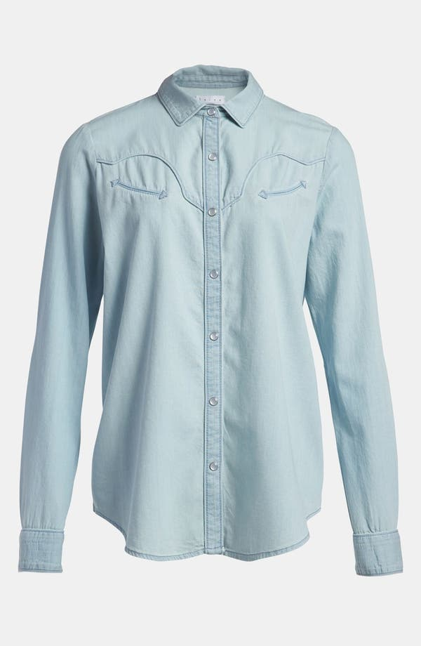 Alternate Image 2  - Leith Chambray Western Shirt