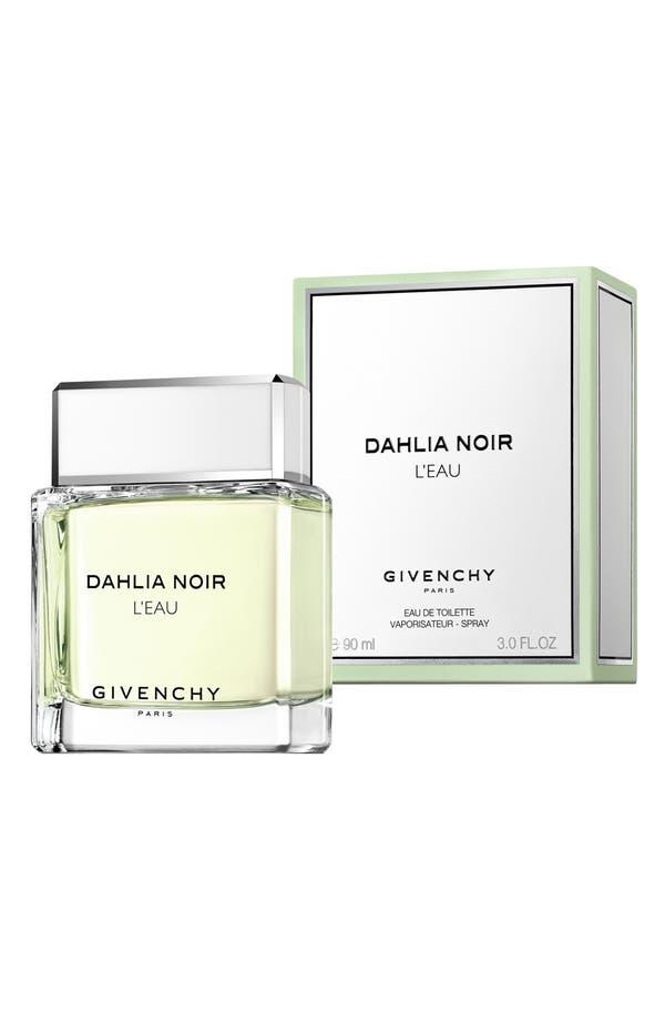 Alternate Image 4  - Givenchy 'Dahlia Noir 'L'Eau' Eau de Toilette