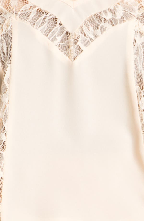 Alternate Image 3  - Lace Inset Camisole