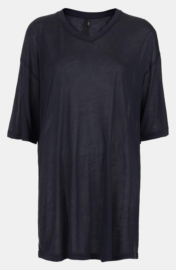 Main Image - Topshop Boutique Modal & Cashmere V-Neck Tee