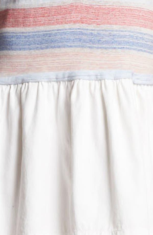 Alternate Image 3  - MARC BY MARC JACOBS 'Sketch' Stripe Cotton Blend Tank Dress