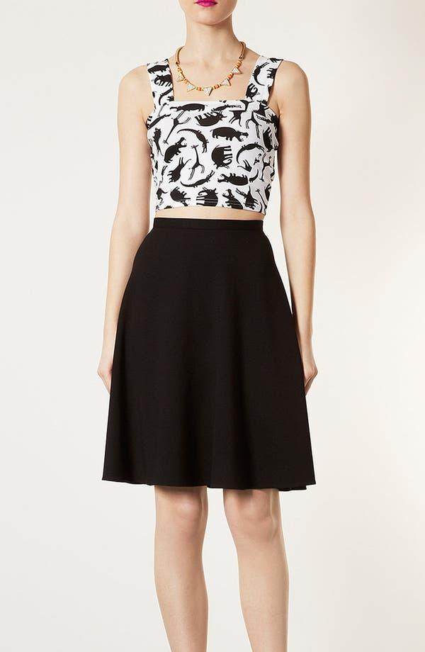 Alternate Image 5  - Topshop 'Milano' Skater Skirt