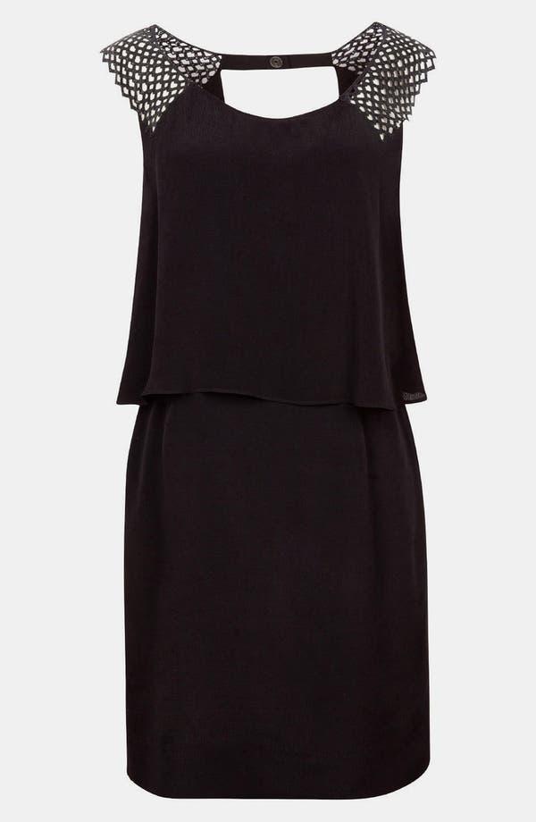 Main Image - sandro 'Rebelote' Tiered Dress