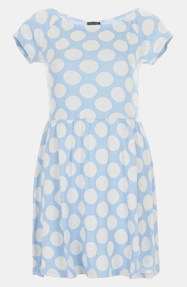 Alternate Image 3  - Topshop Polka Dot Tunic Dress