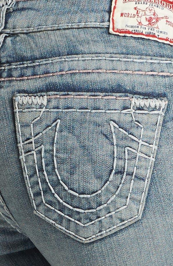 Alternate Image 3  - True Religion Brand Jeans 'Stella Super T' Skinny Jeans (Tail Driver)