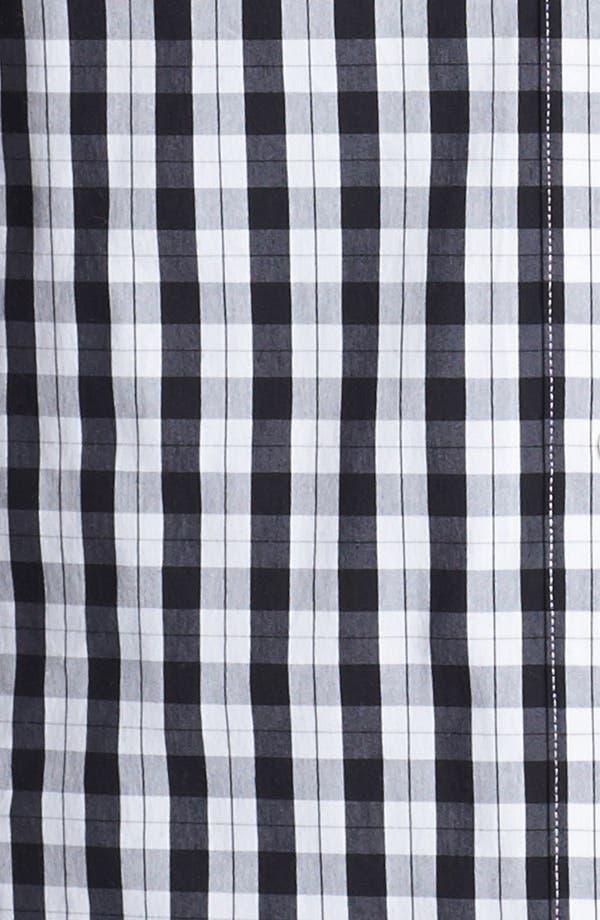Alternate Image 3  - Foxcroft Print Shaped Shirt (Plus Size)