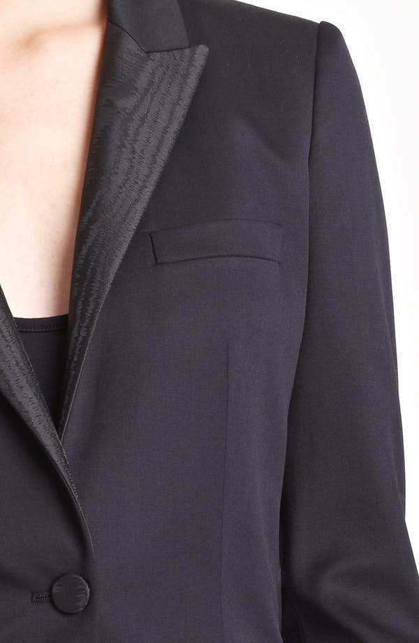 Alternate Image 3  - Burberry Prorsum Moiré Collar Jacket