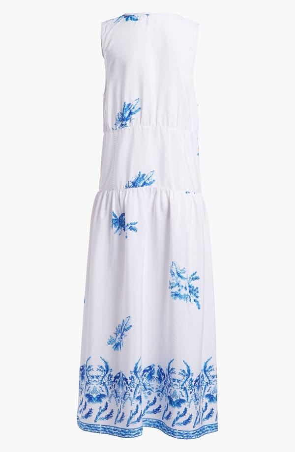Alternate Image 2  - Leith Sheer Print Slip Maxi Dress
