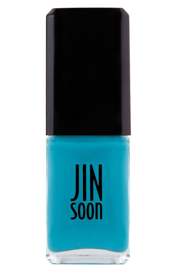 'Poppy Blue' Nail Lacquer,                             Main thumbnail 1, color,                             Poppy Blue