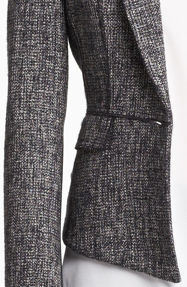 Alternate Image 5  - Elie Tahari 'Minka' Metallic Tweed Jacket