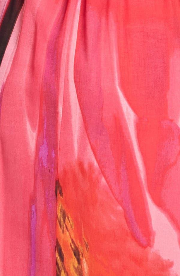 Alternate Image 3  - Vince Camuto Blouson Print Chiffon Maxi Dress