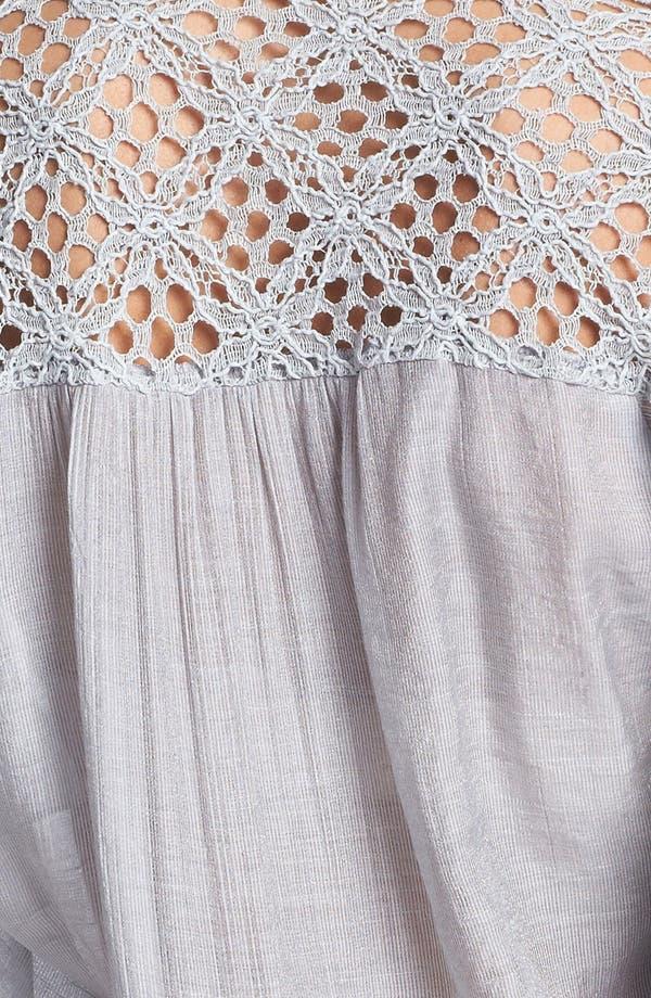 Alternate Image 3  - KUT from the Kloth 'Leana' Lace Trim Shirt