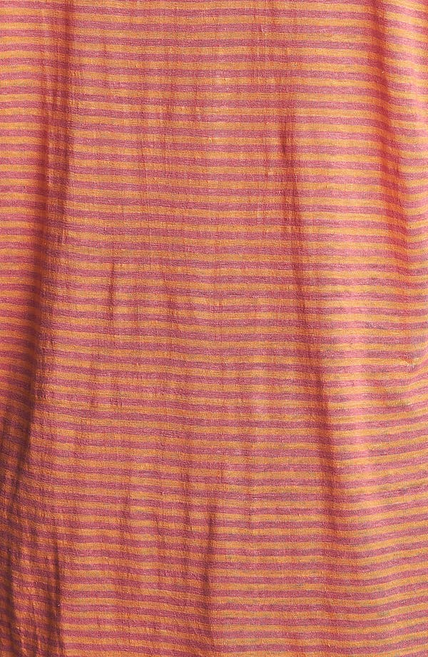 Alternate Image 3  - Eileen Fisher Stripe Linen Top (Plus Size)