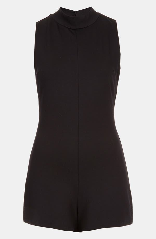 Main Image - Topshop High Neck Romper
