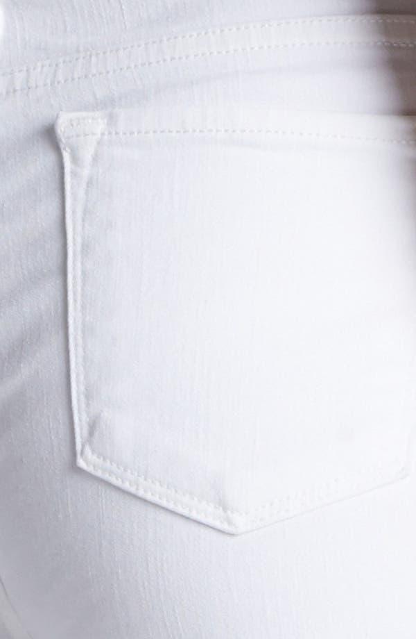 Alternate Image 3  - J Brand 2311 Maria High Waist Skinny Jeans (Blanc)