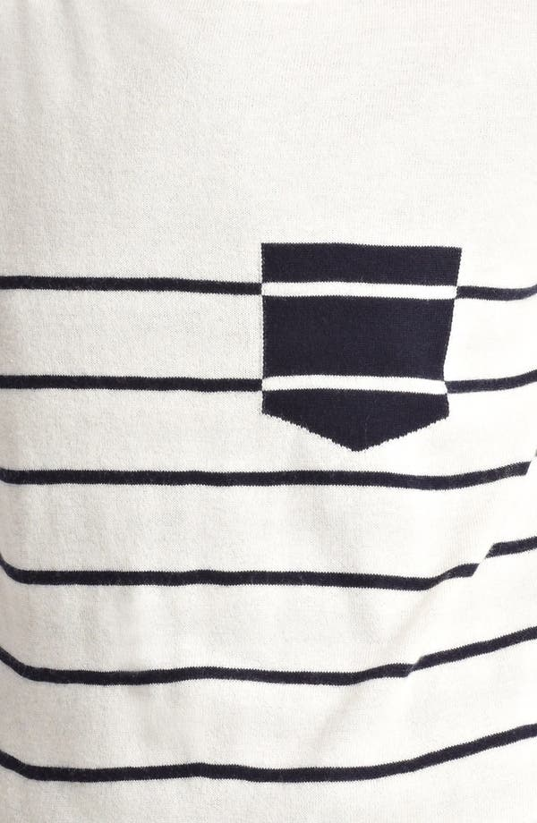 Alternate Image 3  - Band of Outsiders Contrast Pocket Sweater