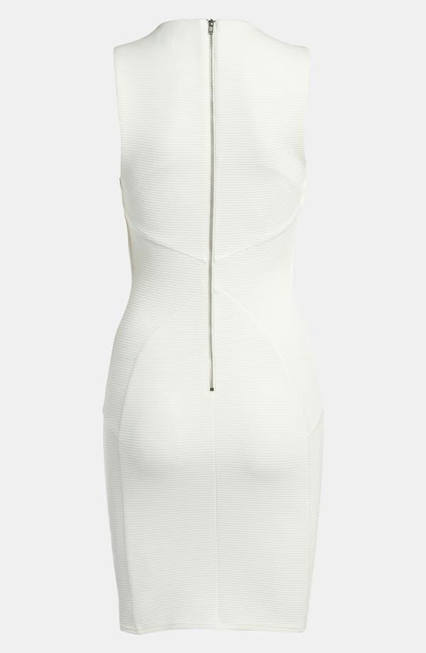 Alternate Image 2  - Topshop Stripe Seamed Body-Con Dress