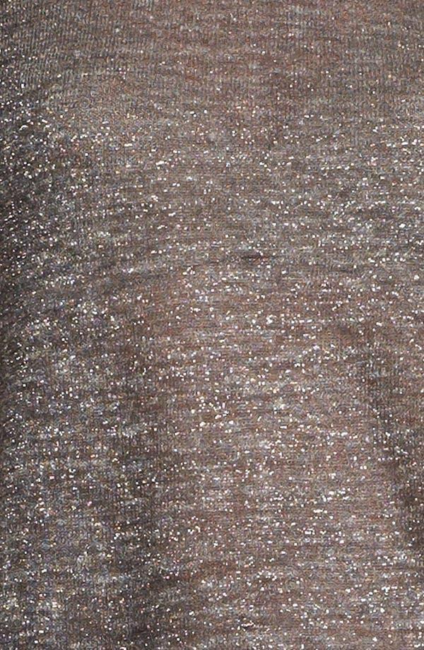 Alternate Image 5  - Eileen Fisher 'Sparkle Linen' Blend Shell