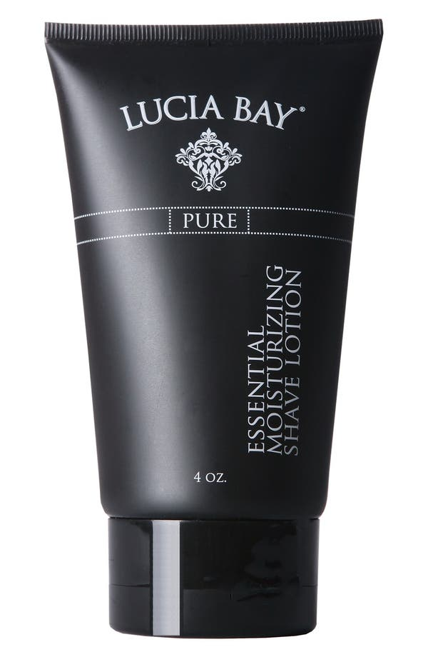 Main Image - Lucia Bay 'Pure' Essential Moisturizing Shave Lotion