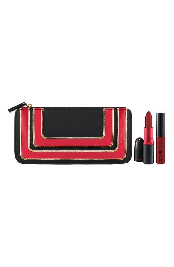 Main Image - M·A·C 'Stroke of Midnight - Viva Glam 1' Lipstick & Lipglass Set (Limited Edition)