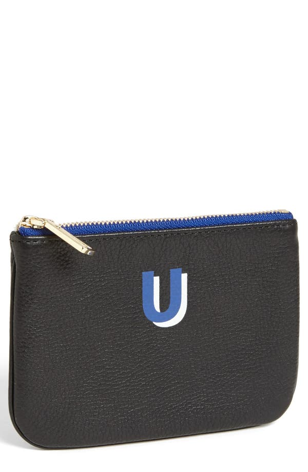 Alternate Image 1 Selected - Rebecca Minkoff 'Cory - A-Z' Leather Pouch