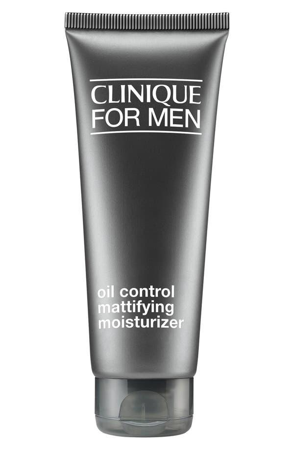 for Men Oil Control Mattifying Moisturizer,                         Main,                         color, No Color