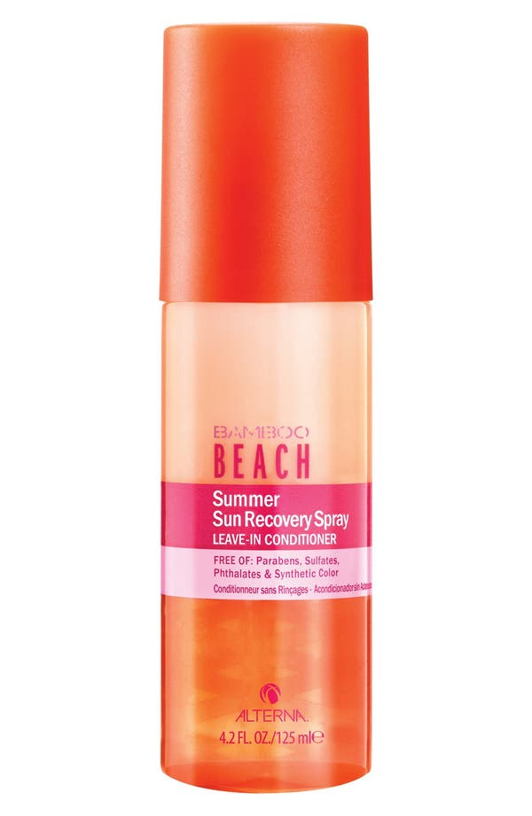'Bamboo Beach - Summer Sun' Recovery Spray Leave-In Conditioner,                             Main thumbnail 1, color,                             No Color