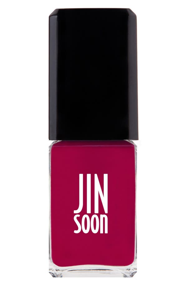 Jinsoon 'CHERRY BERRY' NAIL LACQUER - CHERRY BERRY