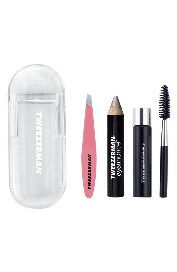 Alternate Image 1 Selected - TWEEZERMAN Mini Brow Rescue Kit