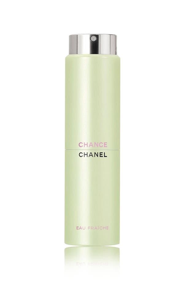 Alternate Image 1 Selected - CHANEL CHANCE EAU FRAÎCHE  Eau de Toilette Twist & Spray