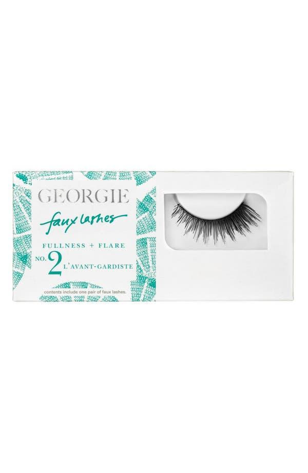 Alternate Image 1 Selected - Georgie Beauty™ 'L'Avant Gardiste' Faux Lashes