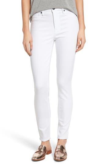PARKER SMITH Bombshell High Waist Stretch Skinny Jeans (Eternal White)