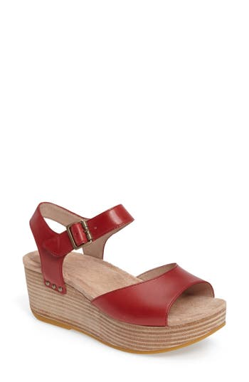 Dansko Silvie Platform Wedge Sandal (Women)