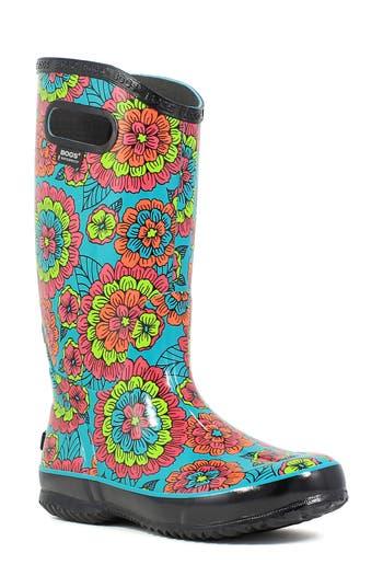 Bogs Pansies Waterproof Rain Boot (Women)