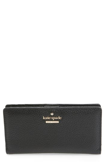 kate spade new york jackson street stacy leather wallet