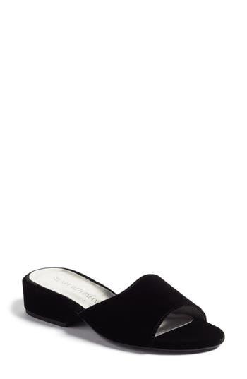 Stuart Weitzman Sliderule Slide Sandal (Women)